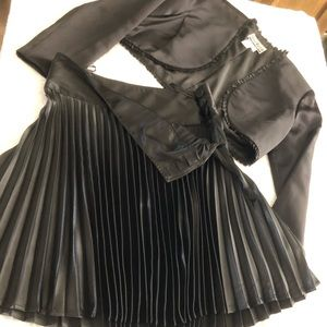 Set includes - jacket and skirt